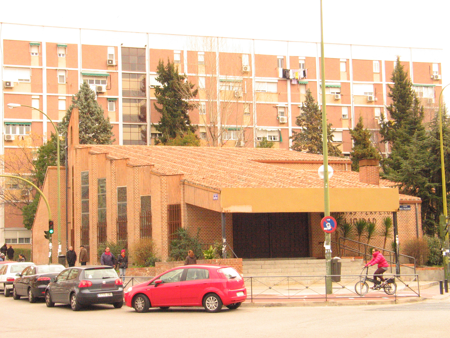 Parish of La Elipa in Madrid, where the Augustinian Recollects served from 1965 to 2016. In the         beginning, it was a neighbourhood in the city's outskirts, built to accommodate rural migrants from all         over Spain. By the 21st century it had become a neighbourhood receiving foreign immigrants.