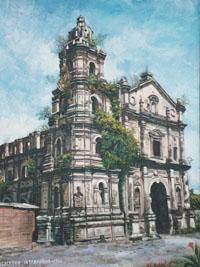 Convent of Intramuros, Manila (1781).