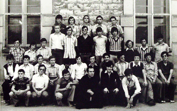 Life in the Province's seminaries in the late 1960s and early 1970s: Fuentarrabía (Guipuzcoa), Spain.