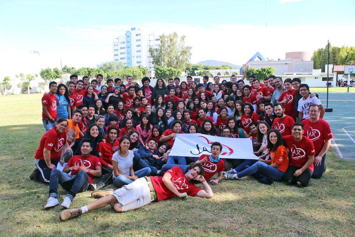 Meeting of the Augustinian Recollect Youth (JAR) in Queretaro, Mexico.